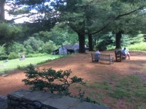 Outside Farmhouse